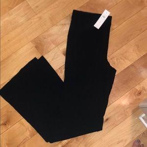 NWT Ann Taylor Black Flare Leg Trouser Size 4